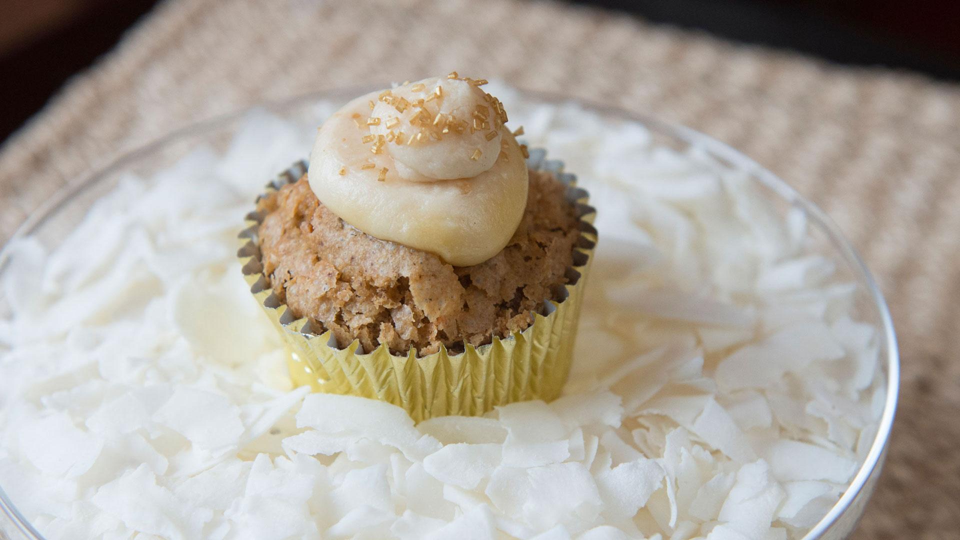 Pineapple Coconut Carrot Cupcake